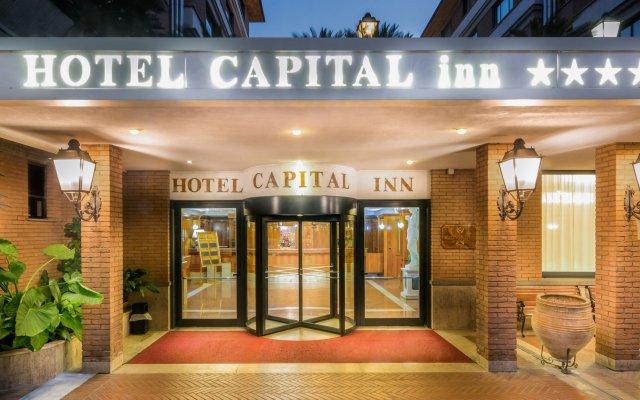 Hotel Capital Inn вид на фасад