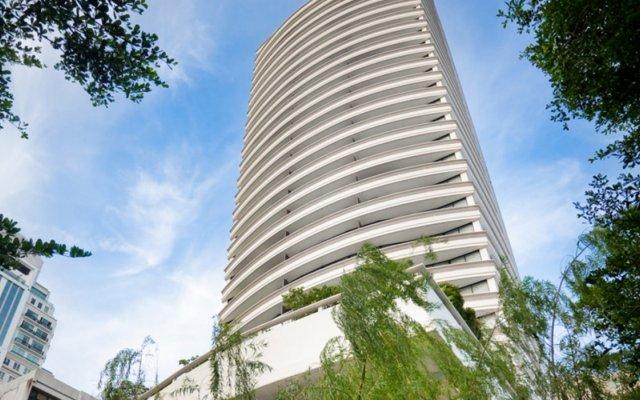 Отель Fraser Suites Sukhumvit, Bangkok Таиланд, Бангкок - отзывы, цены и фото номеров - забронировать отель Fraser Suites Sukhumvit, Bangkok онлайн вид на фасад