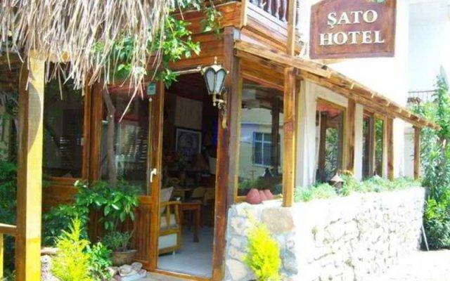 Sato Hotel вид на фасад