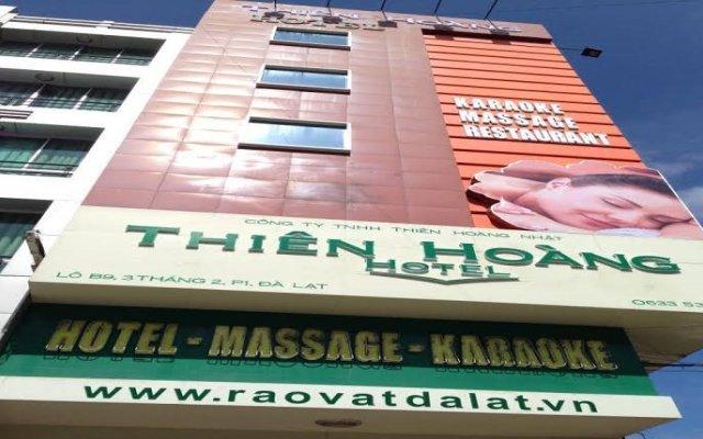 Thien Hoang Hotel Далат вид на фасад