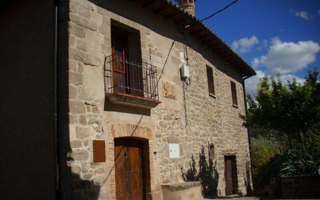 Отель Casa Larriero de Olsón вид на фасад