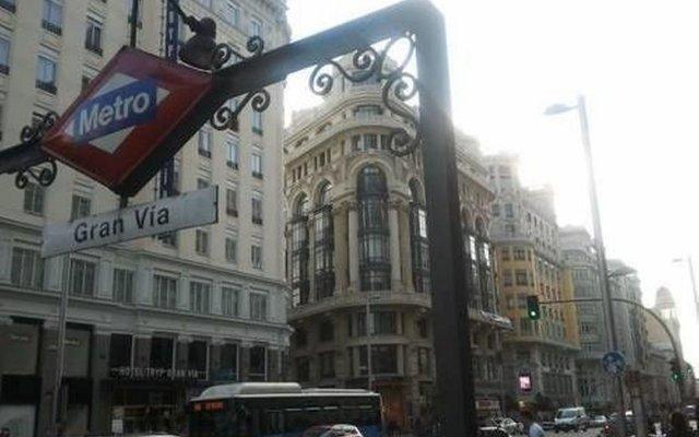 Отель Madrid Center- Fuencarral Pedestrian вид на фасад