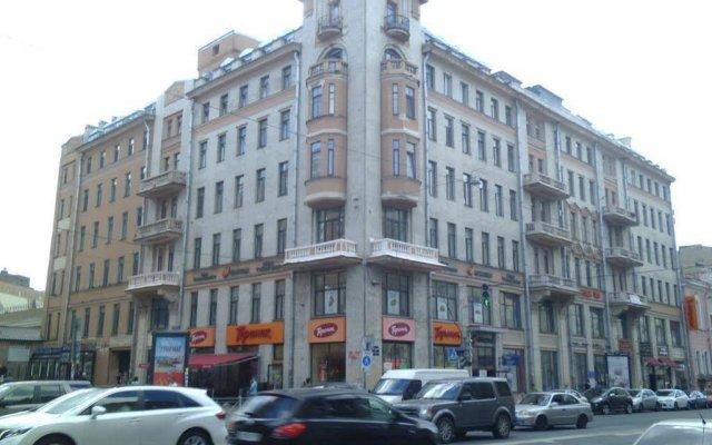 Капитал Отель на Московском Санкт-Петербург вид на фасад