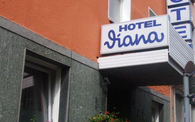 Отель Diana Германия, Дюссельдорф - отзывы, цены и фото номеров - забронировать отель Diana онлайн вид на фасад