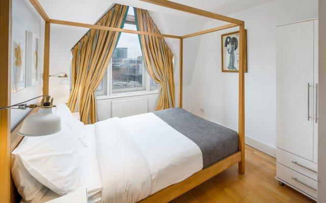 Отель 1 Bedroom Penthouse in Farringdon Великобритания, Лондон - отзывы, цены и фото номеров - забронировать отель 1 Bedroom Penthouse in Farringdon онлайн комната для гостей