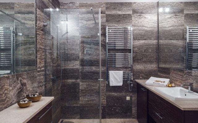 Апартаменты Royal Apartments - Apartamenty Morskie Сопот ванная