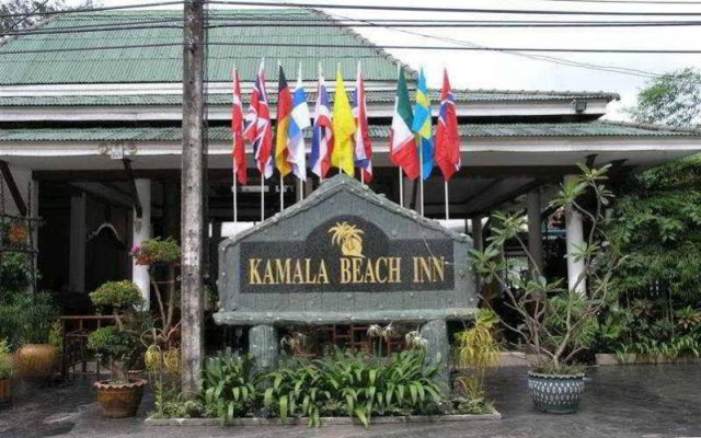 Kamala Beach Inn Hotel Phuket вид на фасад