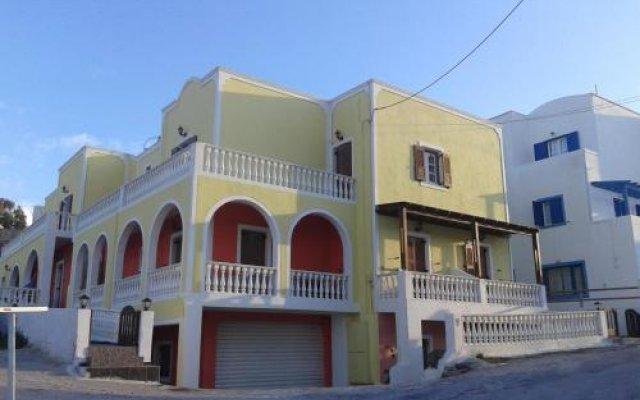 Отель Christina Pension Греция, Остров Санторини - отзывы, цены и фото номеров - забронировать отель Christina Pension онлайн вид на фасад