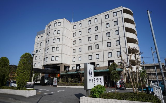 APA Hotel Sagamihara Kobuchieki-mae вид на фасад