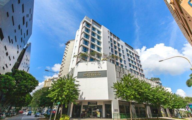 Parc Sovereign Hotel – Albert St вид на фасад