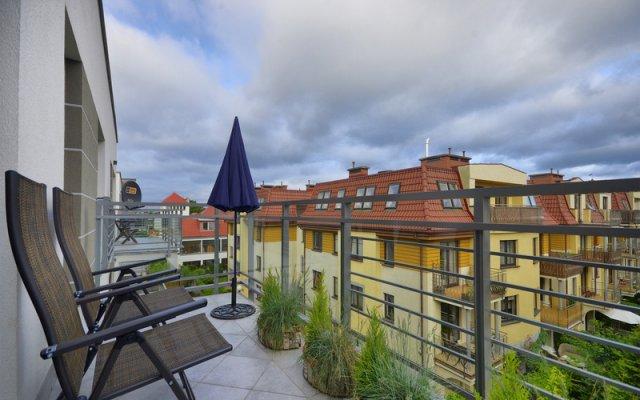 Апартаменты Dom & House - Apartments Sopocka Rezydencja Сопот балкон