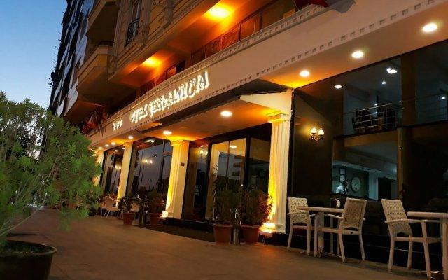 Hotel Germanicia вид на фасад