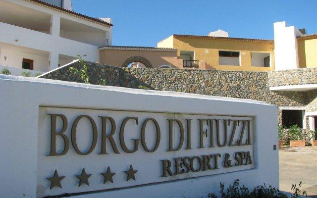 Отель Borgo di Fiuzzi Resort & Spa вид на фасад