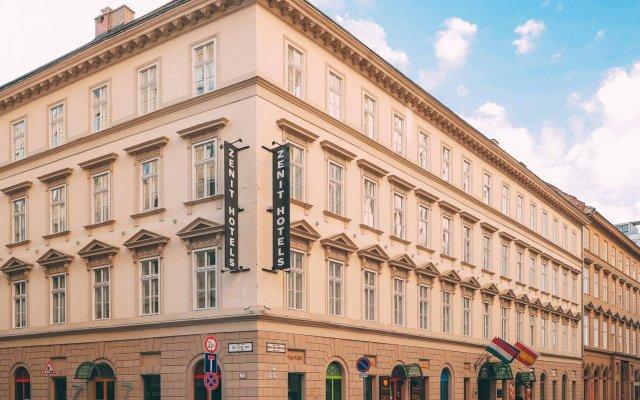 Отель Zenit Budapest Palace Венгрия, Будапешт - 4 отзыва об отеле, цены и фото номеров - забронировать отель Zenit Budapest Palace онлайн вид на фасад