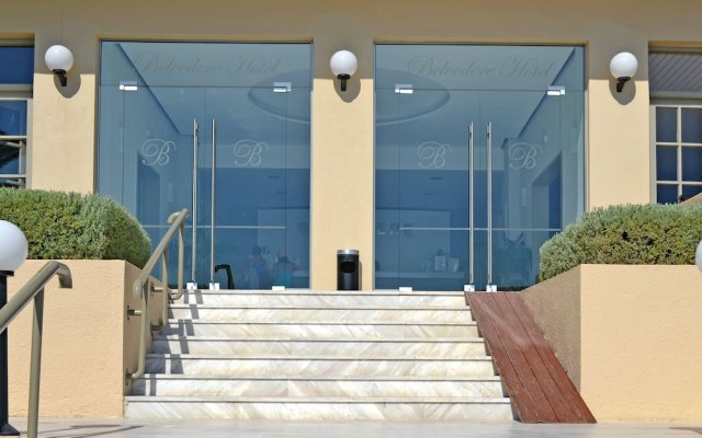 Отель Belvedere Корфу вид на фасад