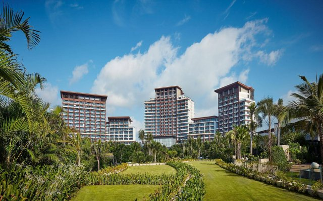 Отель Grand Hyatt Sanya Haitang Bay Resort and Spa вид на фасад