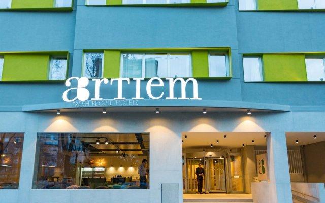 Отель Artiem Madrid вид на фасад