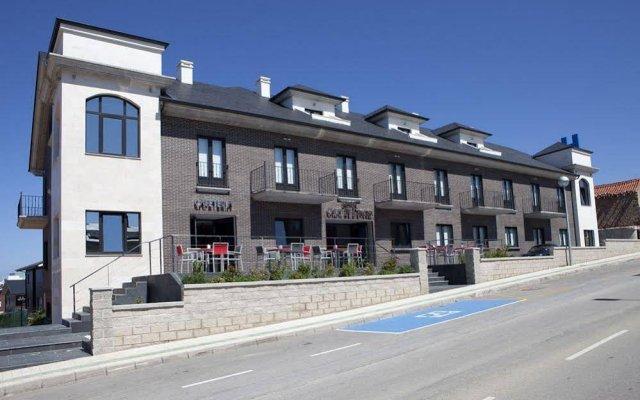 Отель Calas De Liencres Испания, Пьелагос - отзывы, цены и фото номеров - забронировать отель Calas De Liencres онлайн вид на фасад