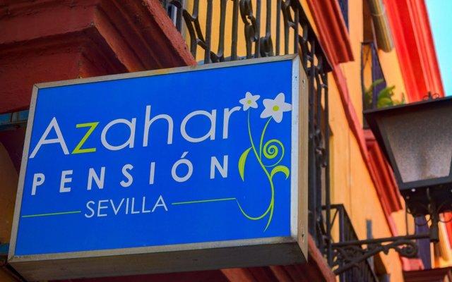 Отель Pensión Azahar вид на фасад