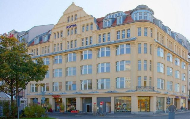 Hotel Royal International вид на фасад