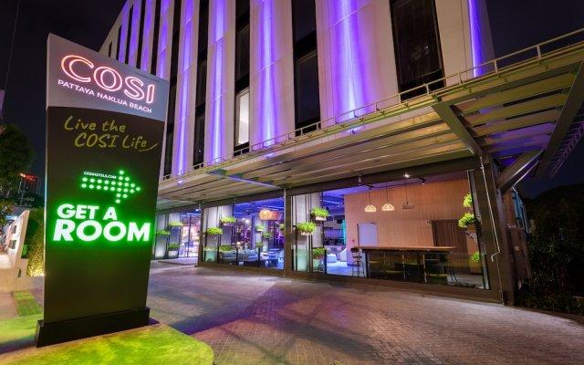 Отель COSI Pattaya Naklua Beach Таиланд, Паттайя - отзывы, цены и фото номеров - забронировать отель COSI Pattaya Naklua Beach онлайн вид на фасад