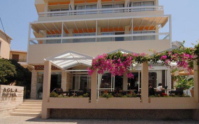 Agla Hotel вид на фасад