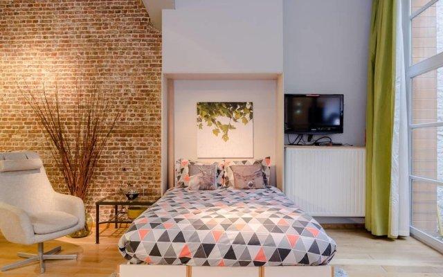 Отель Guesthouse Bxlroom Брюссель комната для гостей