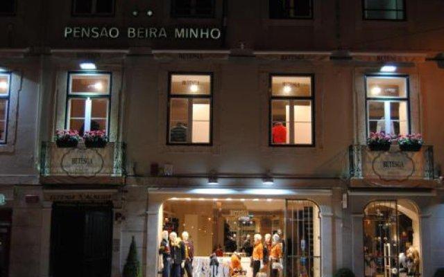 Отель Pensao Beira Minho Лиссабон вид на фасад