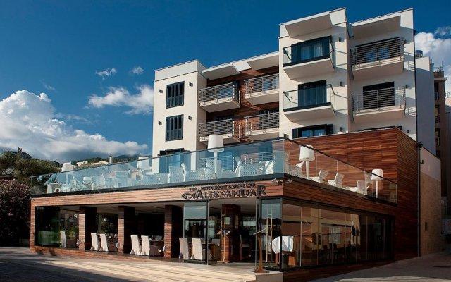 Отель Aleksandar Черногория, Рафаиловичи - отзывы, цены и фото номеров - забронировать отель Aleksandar онлайн вид на фасад
