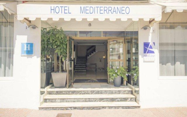 azuLine Hotel Mediterraneo вид на фасад