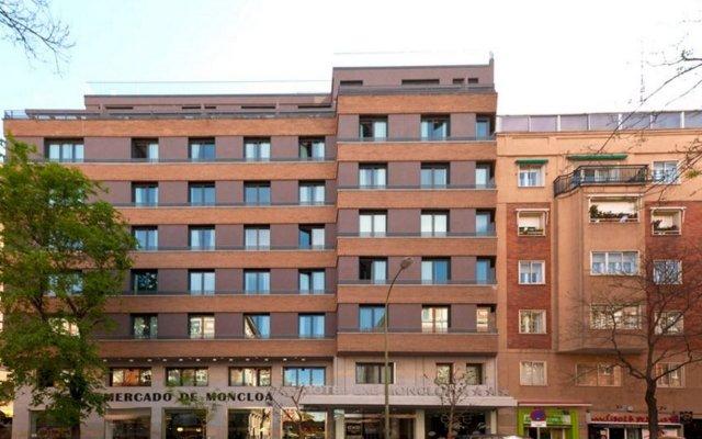 Отель Exe Moncloa Мадрид вид на фасад