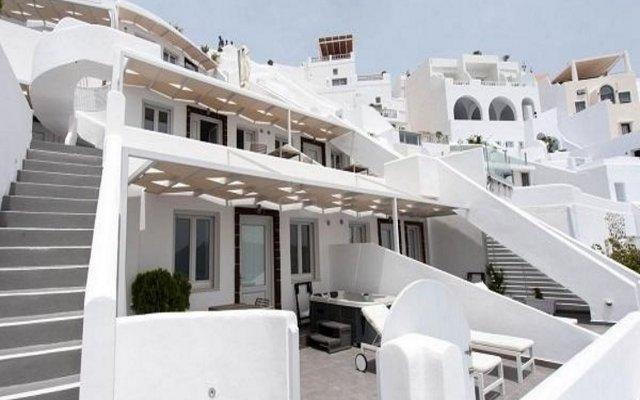Отель Santorini Secret Suites & Spa вид на фасад
