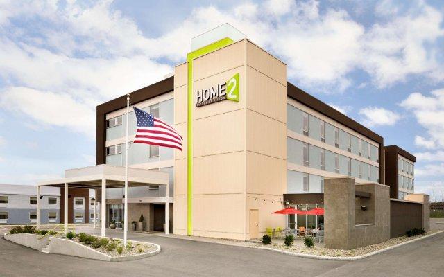 Отель Home2 Suites by Hilton Cleveland Beachwood вид на фасад