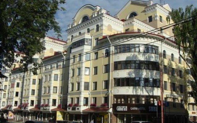 Гарни Отель Сибирия вид на фасад