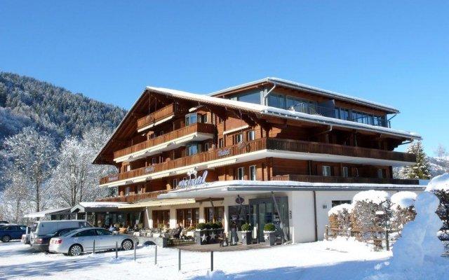 Отель Arc En Ciel Швейцария, Гштад - отзывы, цены и фото номеров - забронировать отель Arc En Ciel онлайн вид на фасад