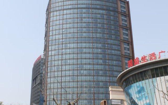 Guoman Hotel Shanghai вид на фасад