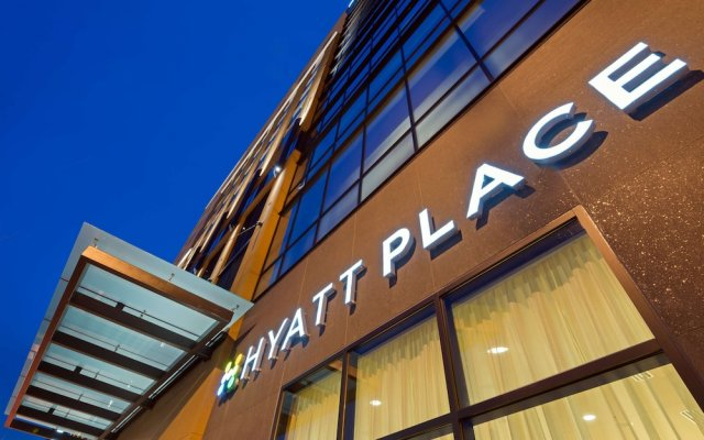 Отель Hyatt Place Nashville Downtown вид на фасад