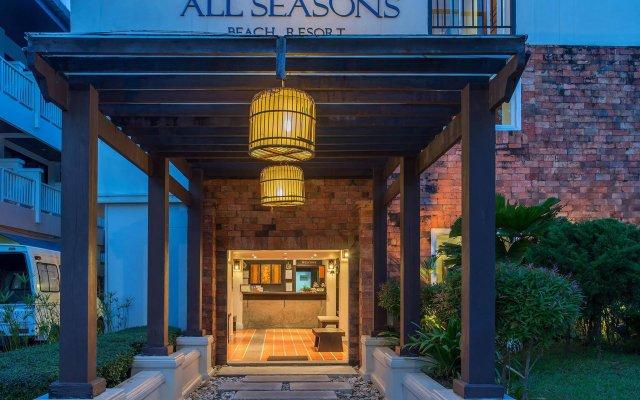 Отель Aonang All Seasons Beach Resort вид на фасад