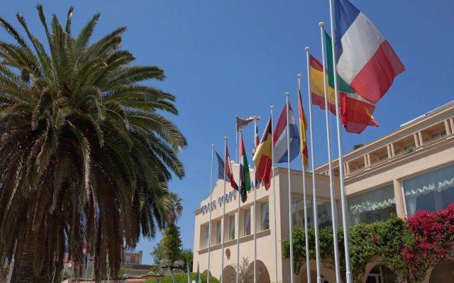 Отель Corfu Palace Hotel Греция, Корфу - 4 отзыва об отеле, цены и фото номеров - забронировать отель Corfu Palace Hotel онлайн вид на фасад