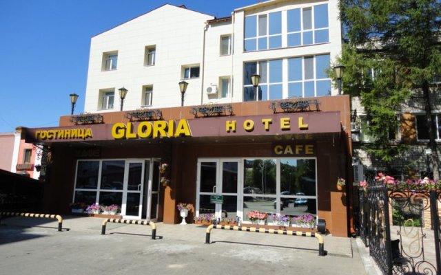 Гостиница Глория вид на фасад