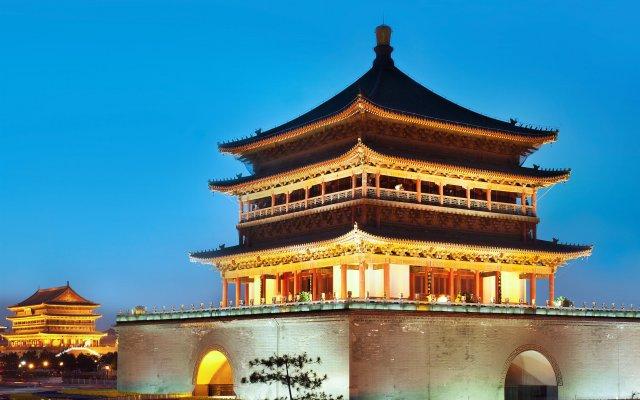 Отель The Westin Xian Китай, Сиань - отзывы, цены и фото номеров - забронировать отель The Westin Xian онлайн вид на фасад