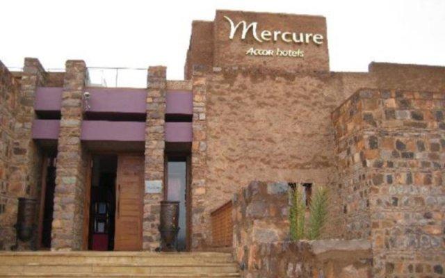 Отель Mercure Ouarzazate Марокко, Уарзазат - отзывы, цены и фото номеров - забронировать отель Mercure Ouarzazate онлайн вид на фасад