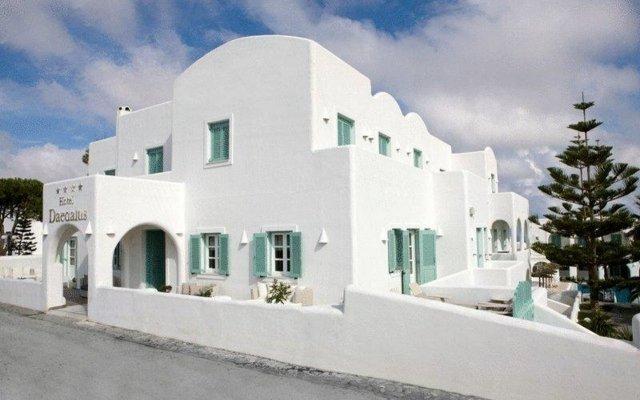 Отель Daedalus Греция, Остров Санторини - отзывы, цены и фото номеров - забронировать отель Daedalus онлайн вид на фасад
