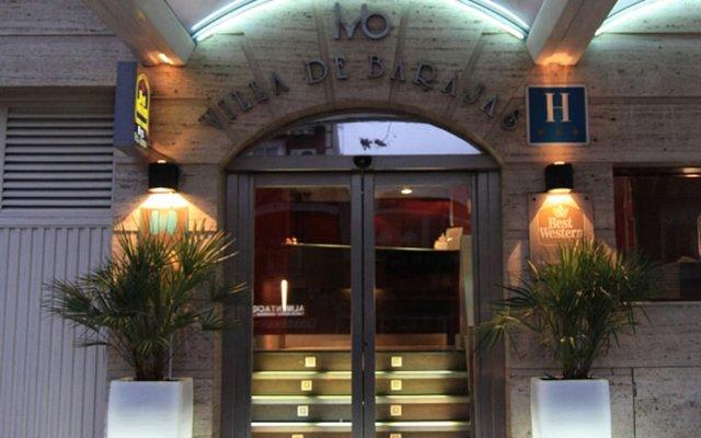 Отель Villa De Barajas Испания, Мадрид - 8 отзывов об отеле, цены и фото номеров - забронировать отель Villa De Barajas онлайн вид на фасад