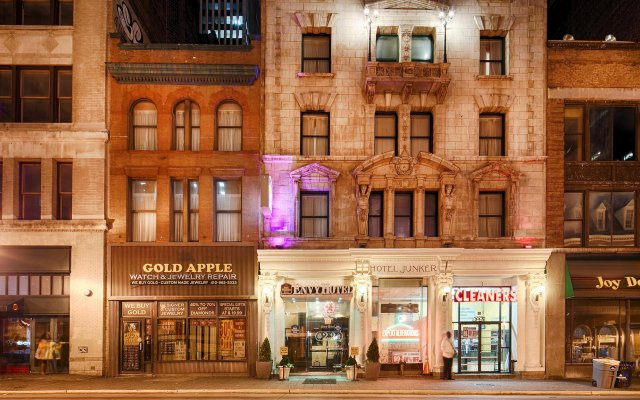 Отель ENVY Балтимор вид на фасад