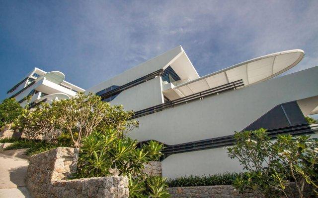 Отель Kata Rocks вид на фасад