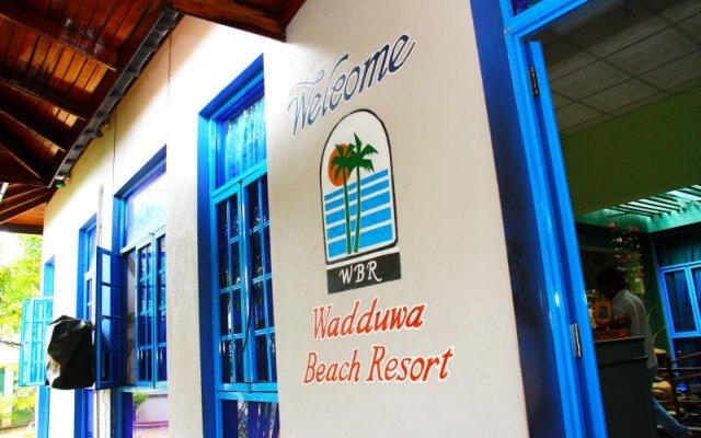 Отель New Wadduwa Beach Resort вид на фасад