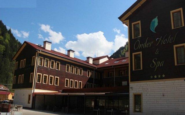 Uzungol Onder Hotel & Spa Турция, Узунгёль - отзывы, цены и фото номеров - забронировать отель Uzungol Onder Hotel & Spa онлайн вид на фасад