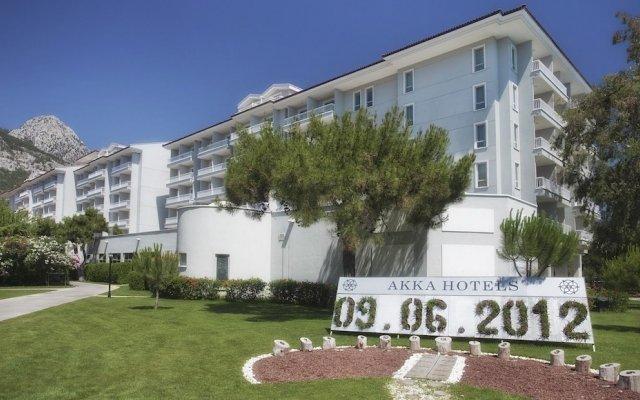 Отель Akka Antedon вид на фасад