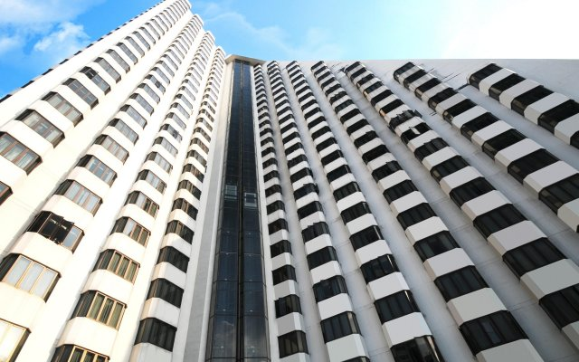 Отель Omni Tower Syncate Suites Бангкок вид на фасад